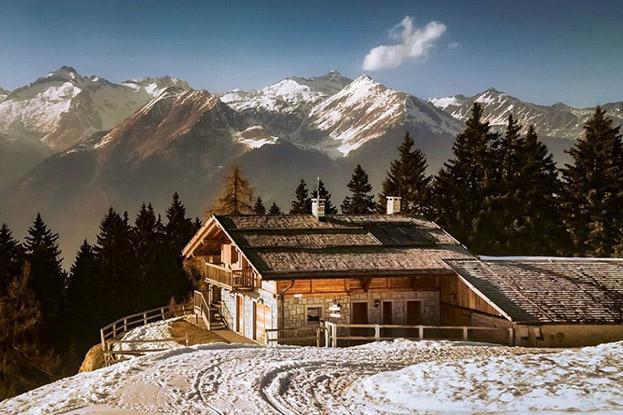 mobili per case di montagna vestire la casa col calore