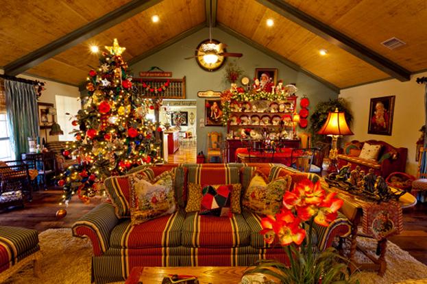 Sedie Decorate Per Natale : Arredare la casa per il natale castaldo arredamenti vi propone